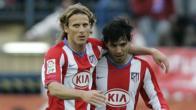 Aguirre and Forlan - photo courtesy BodogLife.co.uk
