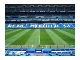 Bernabeu Stadium - Real Madrid