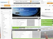 Betsson has a fresh green look and lots of betting action - click to visit Betsson Sports