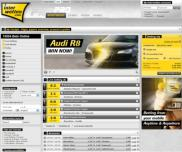 Interwetten Bookmakers entry page - always lots on offer