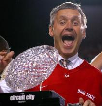 Jim Tressel and the Fiesta Bowl