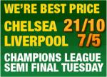 Paddy Latest odds on Liverpool vs Chelsea