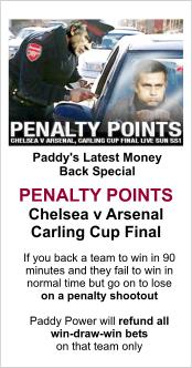 Paddy Power Penalty Cash Back