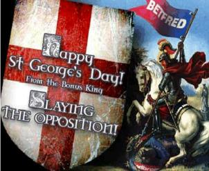 Happy St Georges Day from BetFred.com