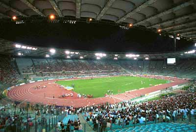 Stadio Olimpico - venue for this weekends Coppa Italia Final