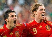 Villa and Torres - Euro2008 - photo courtesy of Bodog Sports
